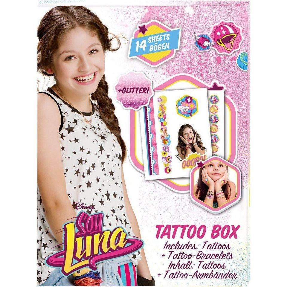 CRAZE Tattoo Box - Soy Luna