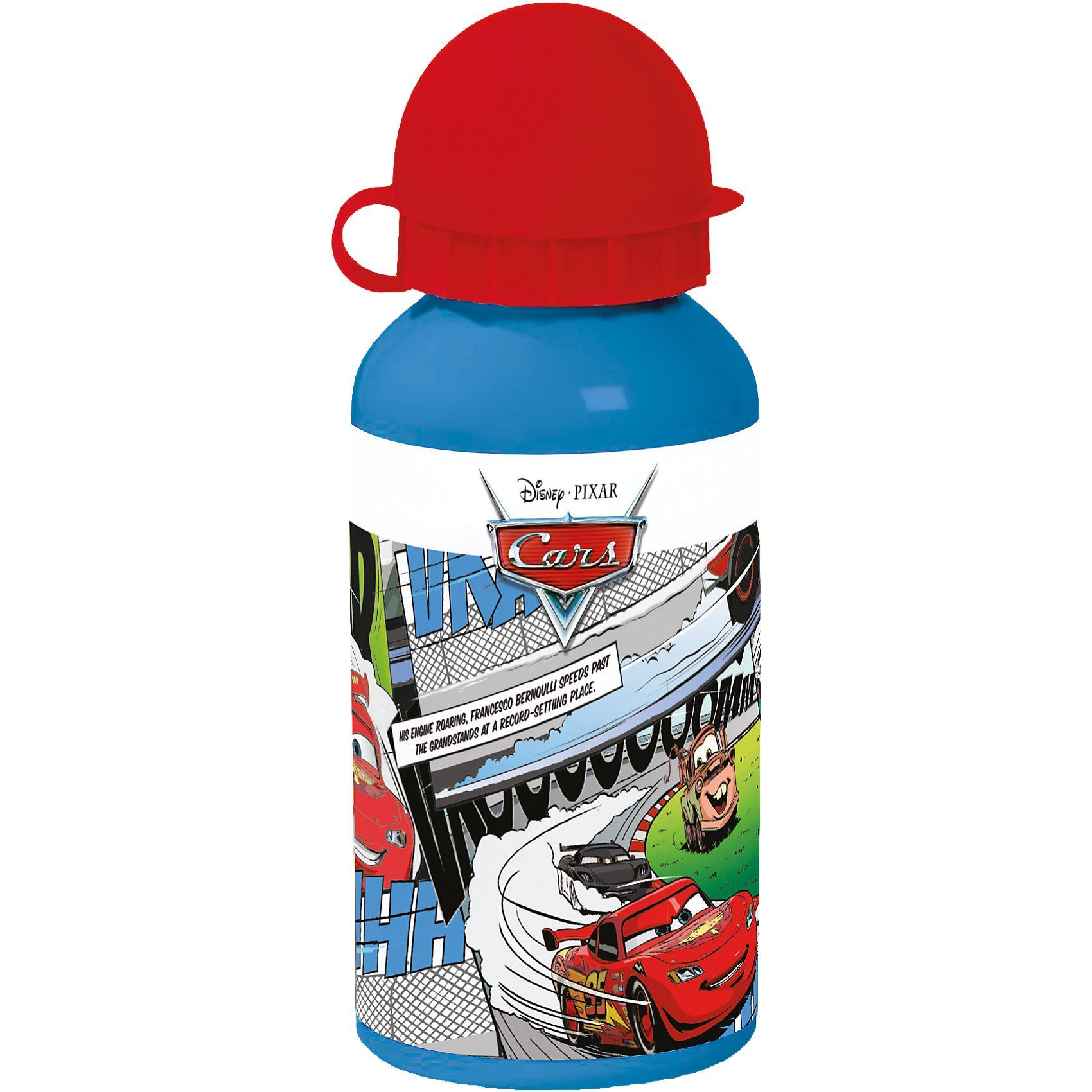 Alu-Trinkflasche Disney Cars, 400 ml