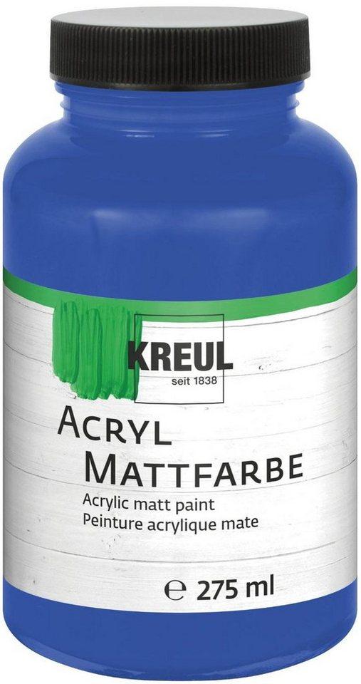 KREUL Acryl Mattfarbe, 275 ml in Blau