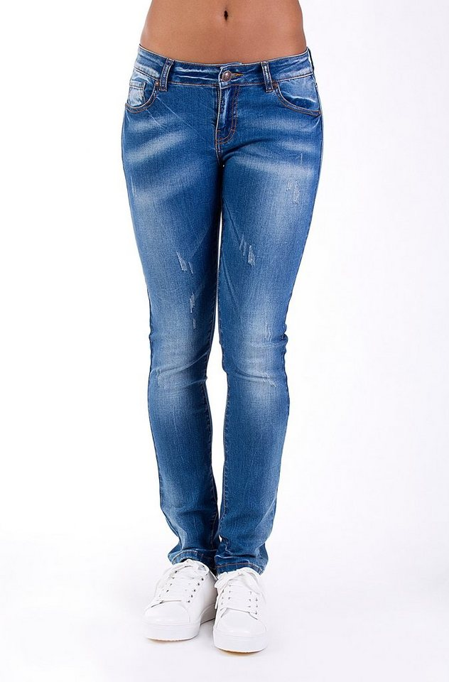 Blue Monkey Slim-fit-Jeans »BMJ 2007« in blau
