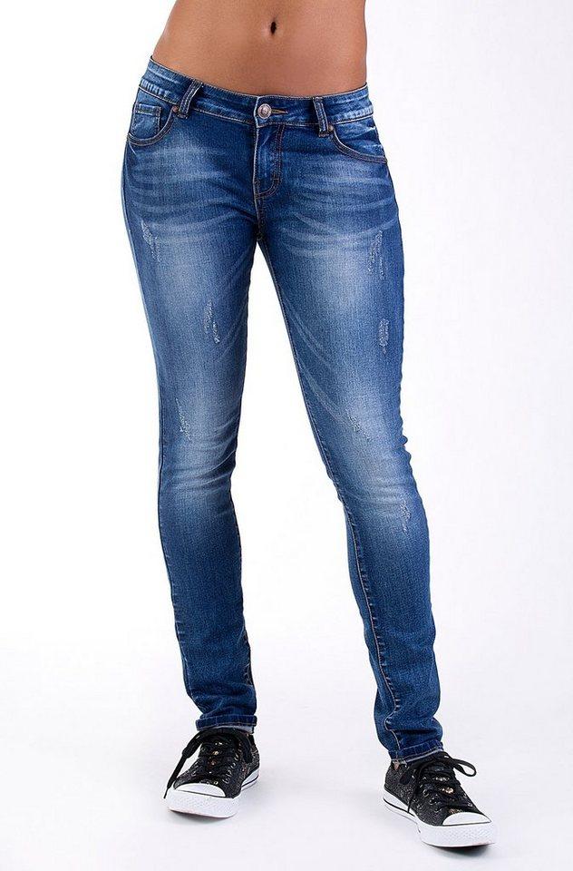 Blue Monkey Slim-fit-Jeans »BMJ 2009« in blau