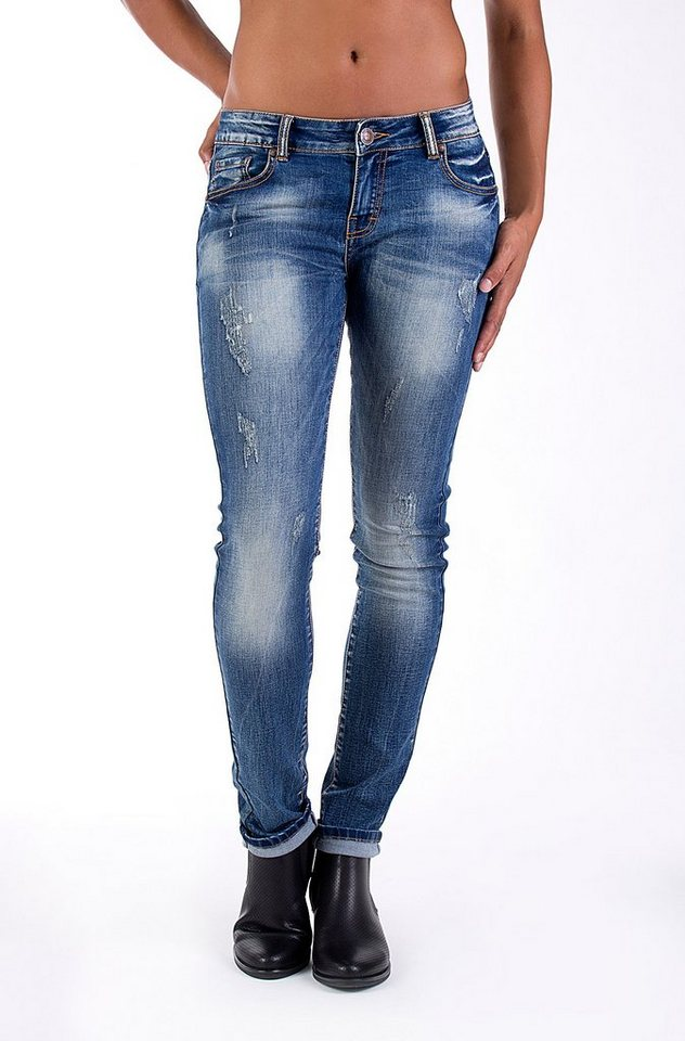 Blue Monkey Slim-fit-Jeans »BMJ 2008« in darkblue