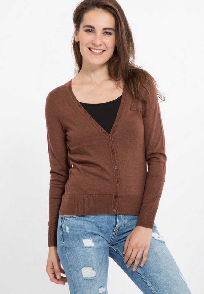Mexx Strickpullover in brown