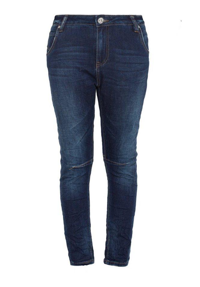 Blue Monkey Skinny-fit-Jeans »Celine 1230« in dunkelblau
