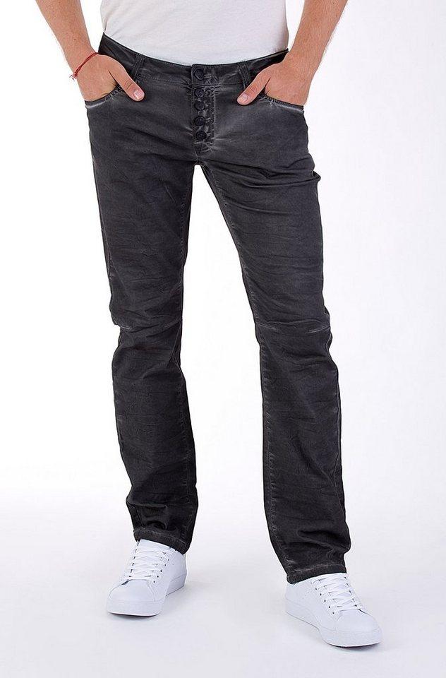 Blue Monkey Slim-fit-Jeans »BM 02 Alex« in grau