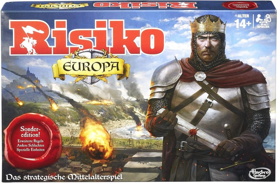 Hasbro Strategiespiel, »Hasbro Gaming Risiko Europa«