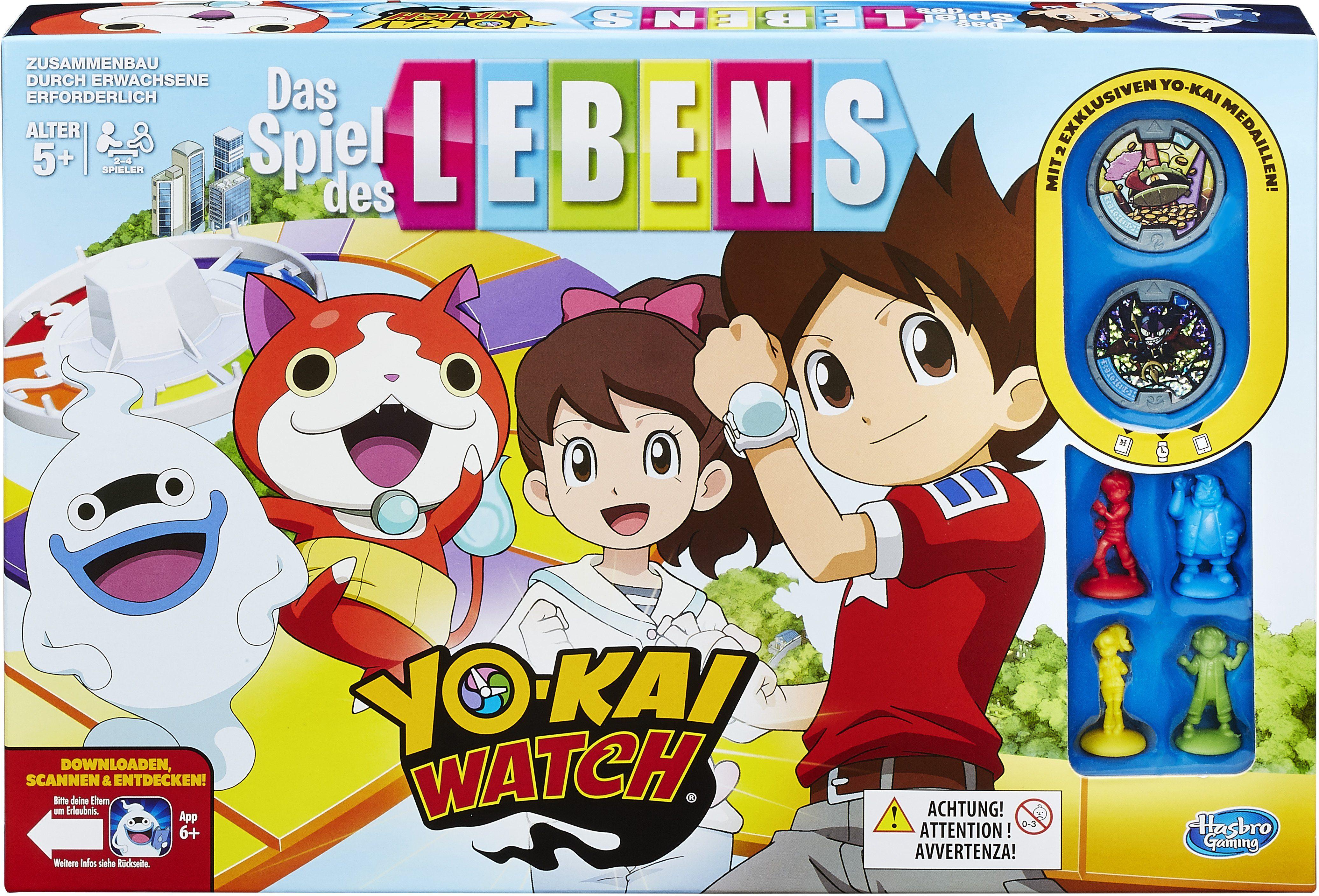 Hasbro Brettspiel, »Hasbro Gaming, Spiel des Lebens Yo-Kai Watch«