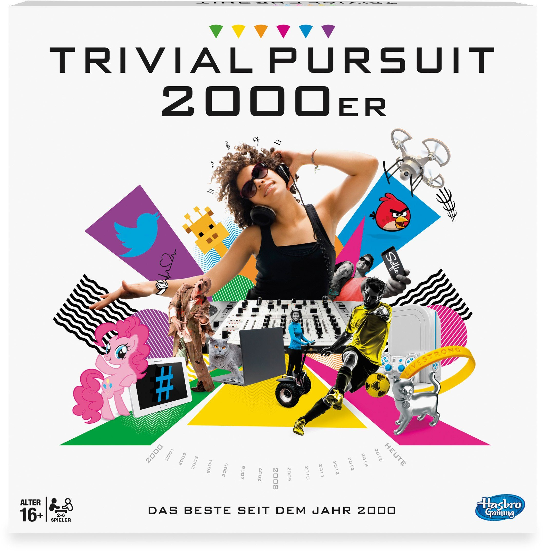 Hasbro Brettspiel, »Hasbro Gaming Trivial Pursuit 2000er Edition«