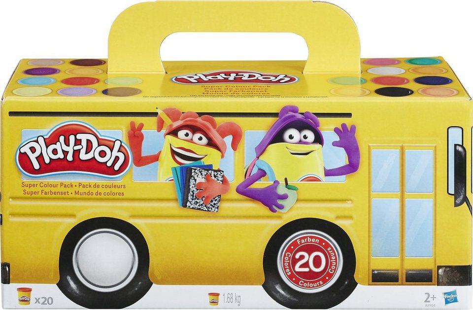Hasbro Knetset, »Play-Doh, 20er Pack Farbenset«