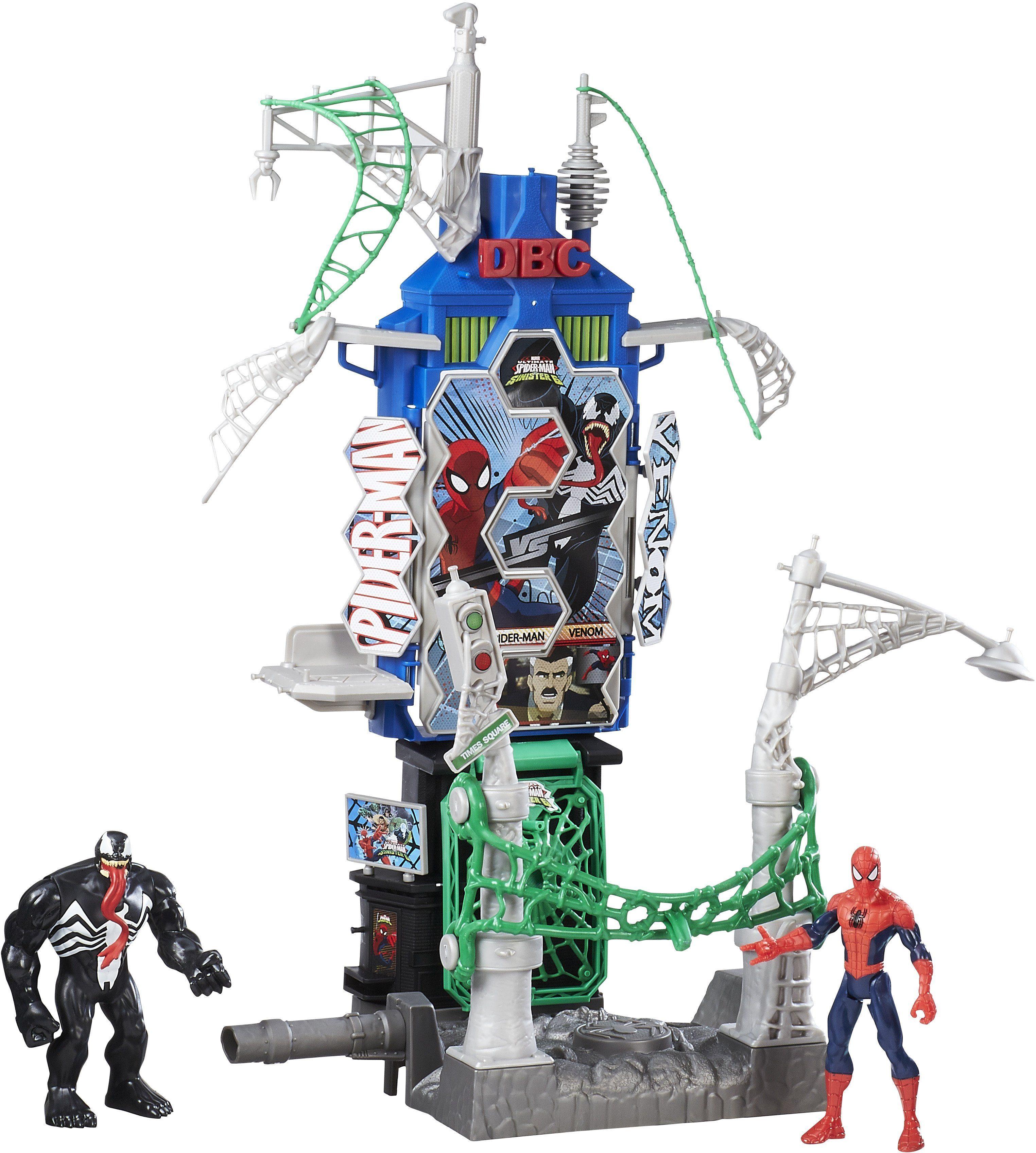 Hasbro Spielfiguren-Set, »Spider-Man Sinister 6 Web City, Battle Skyline Set«