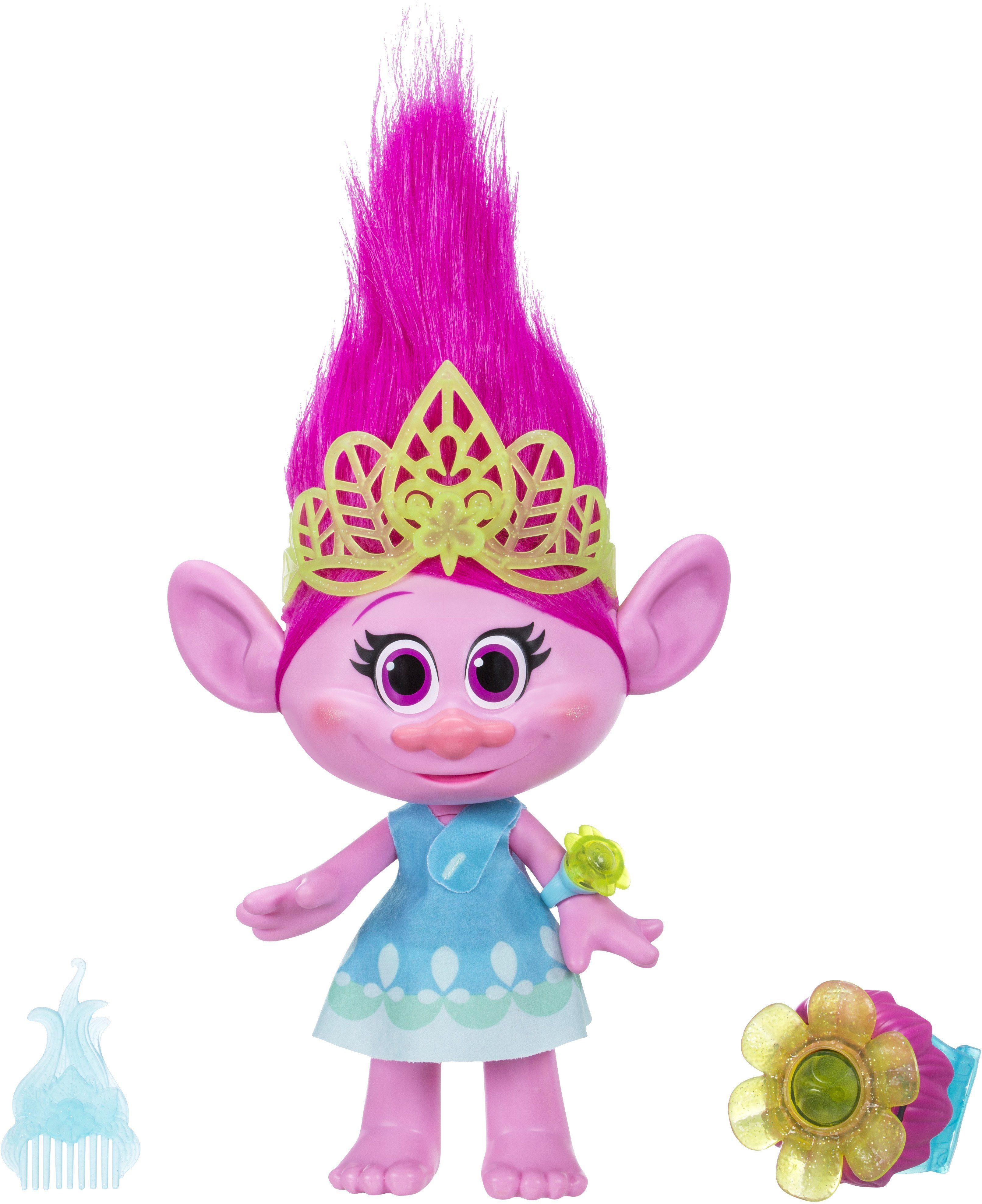 Hasbro Spielfigur, »Trolls Kuschelzeit Poppy«