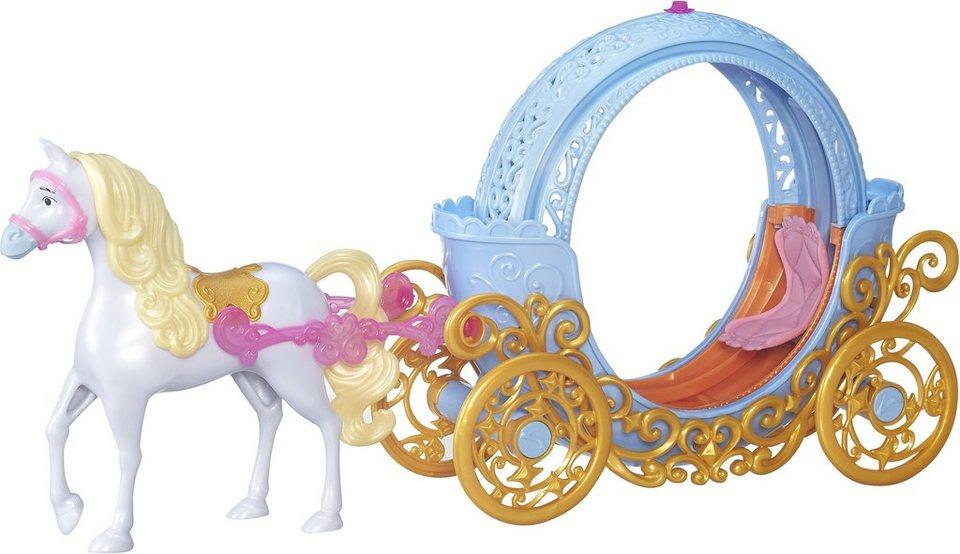 Hasbro Puppenzubehör, »Disney Prinzessin, Cinderellas verwandelbare Kutsche«