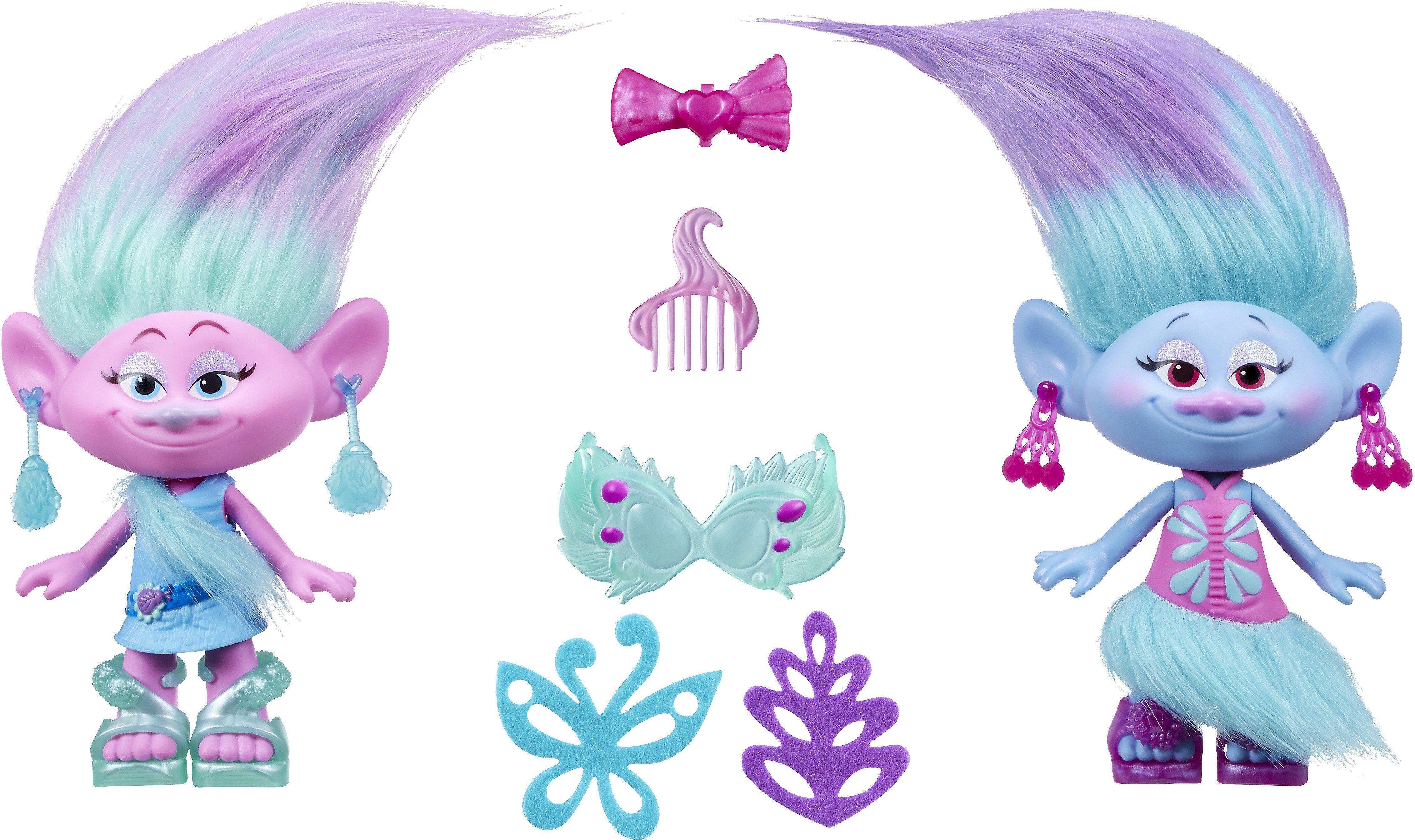 Hasbro Spielfiguren, »Trolls Die Fashion Zwillinge«