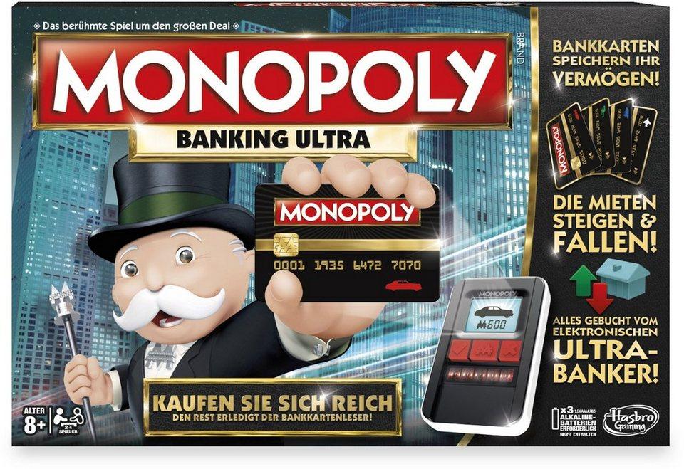 Hasbro Brettspiel, »Hasbro Gaming, Monopoly Banking Ultra - österreichische Version«