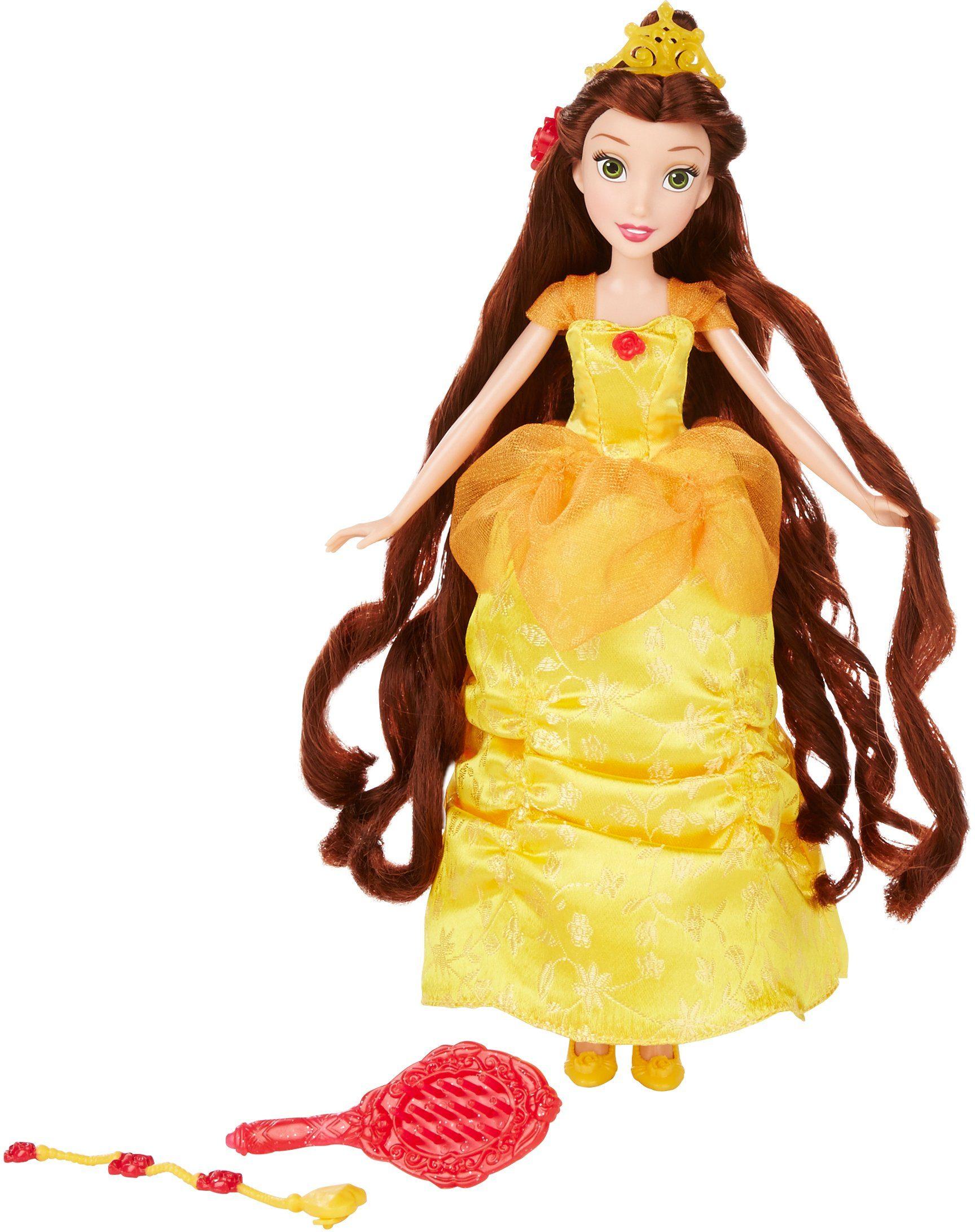 Hasbro Puppe, »Disney Prinzessin, Haarzauber Belle«