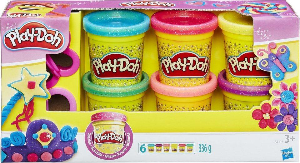 Hasbro Knetset, »Play-Doh, Glitzerknete«