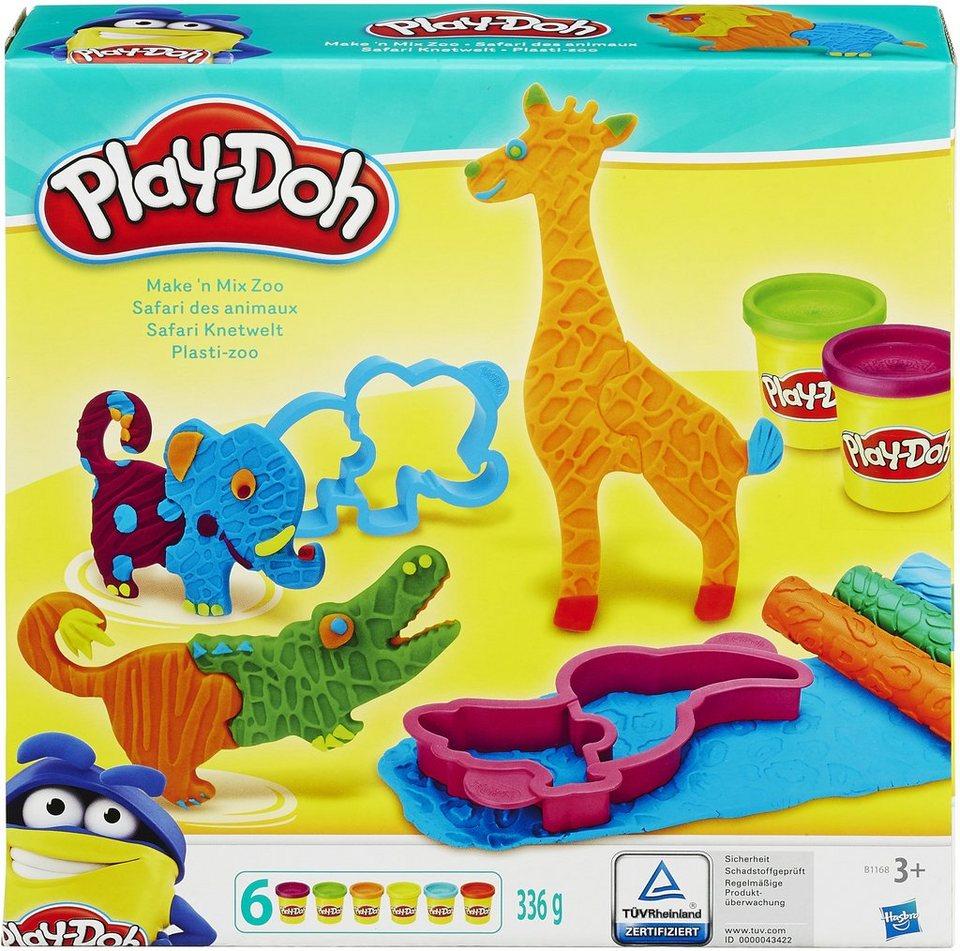 Hasbro Knetset, »Play-Doh, Safari Knetwelt«