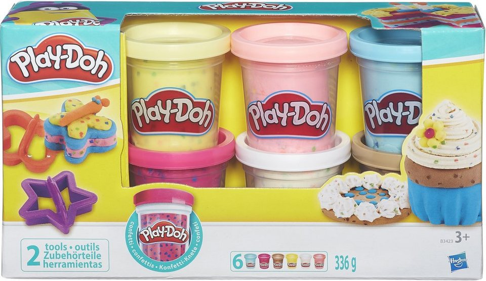 Hasbro Knetset, »Play-Doh, Konfettiknete«