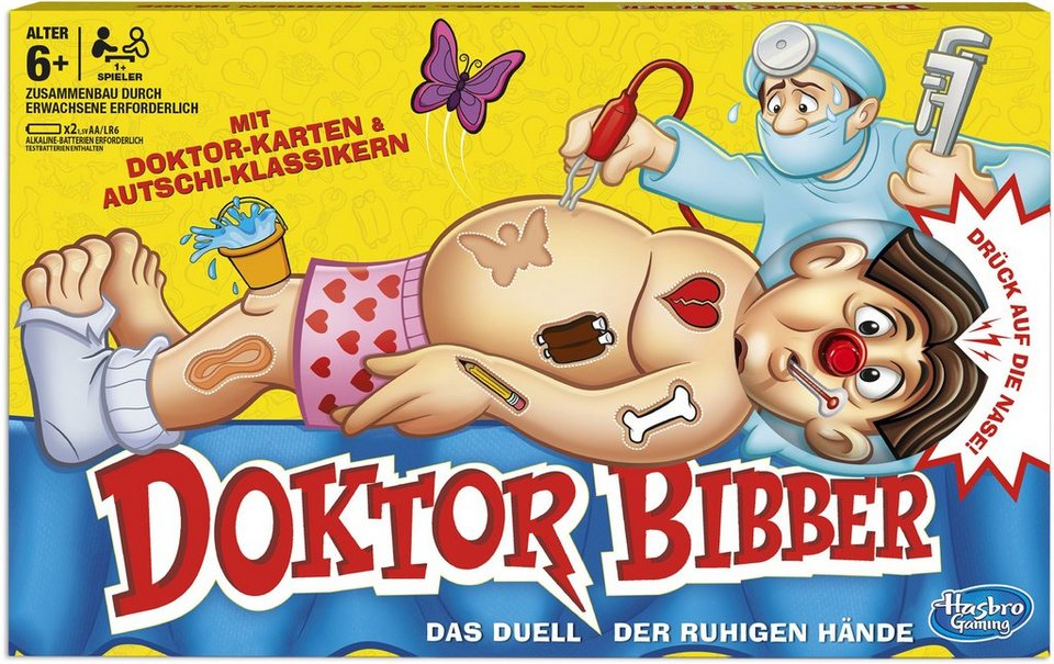 Hasbro Kinderspiel, »Hasbro Gaming, Dr. Bibber«
