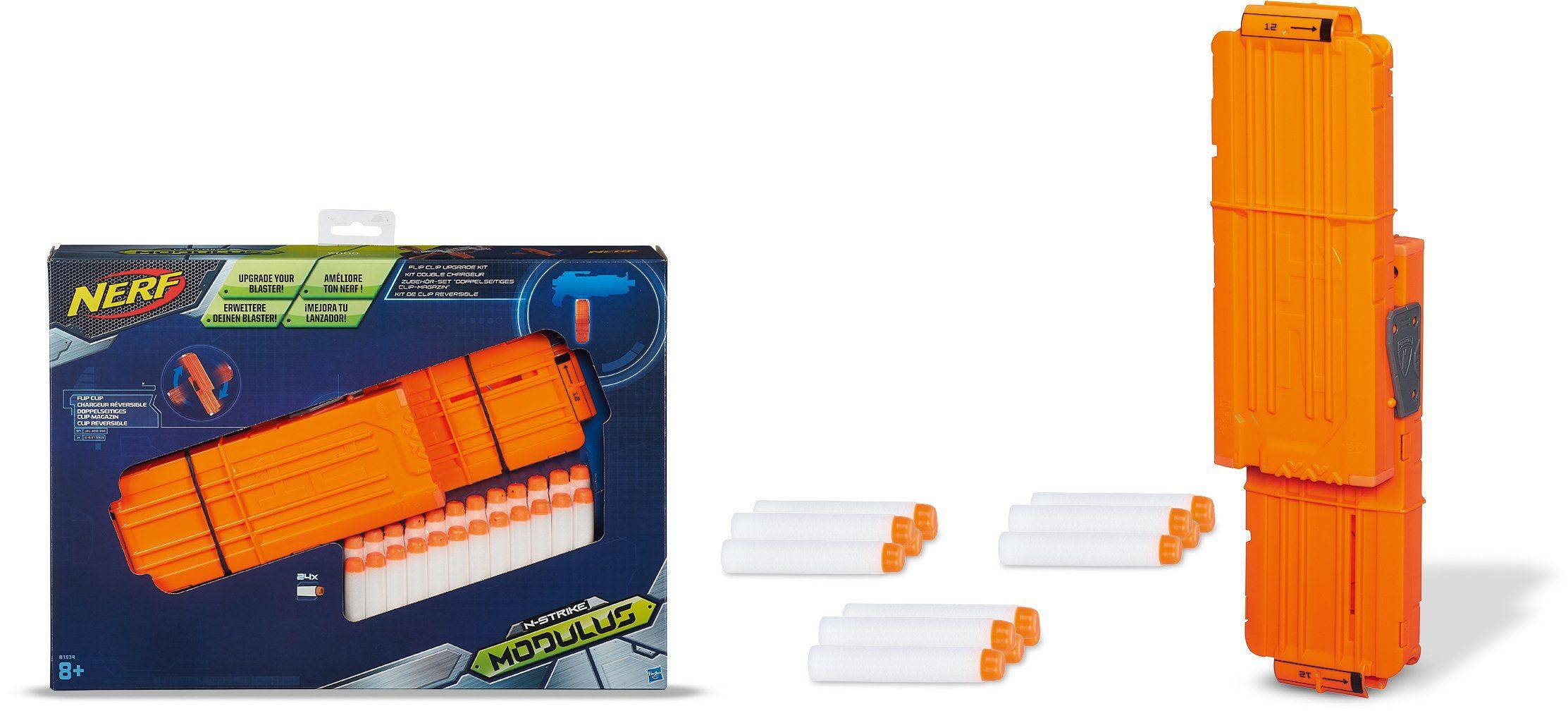 Hasbro Clip-Magazin, »Nerf N-Strike Elite Modulus Zubehör Set, Doppelseitiges Clip-Magazin«