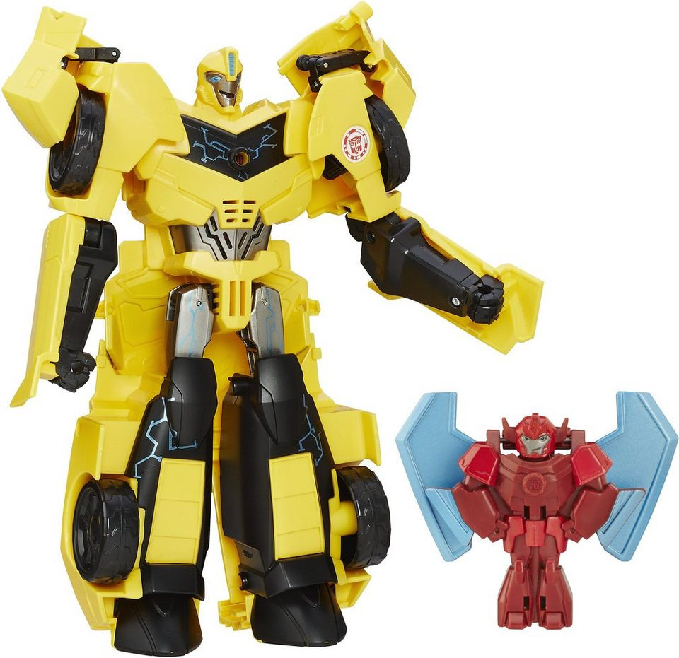 Hasbro Spielfigur, »Robots in Disguise, Bumblebee und Buzzstrike«