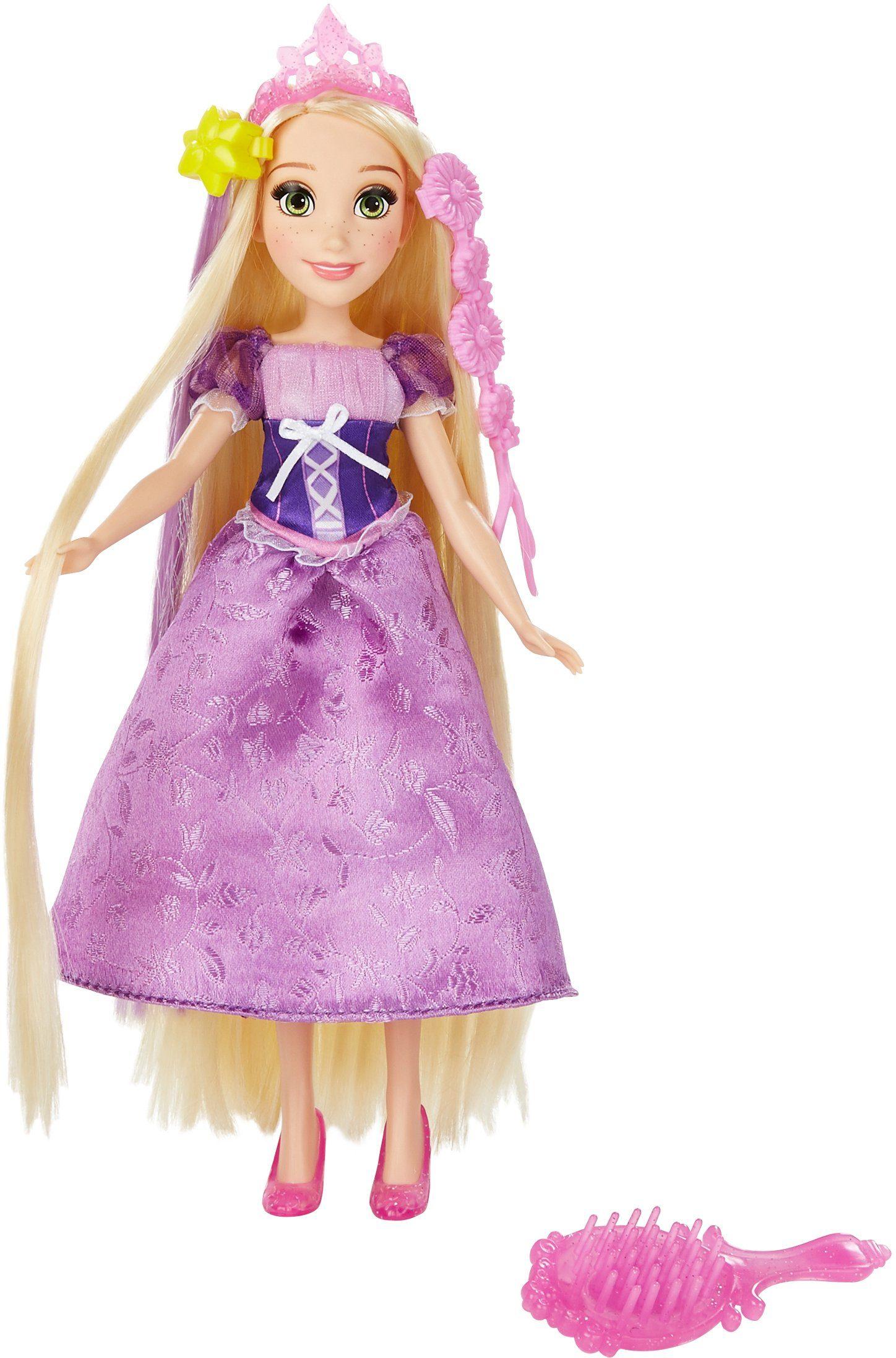 Hasbro Puppe, »Disney Prinzessin, Haarzauber Rapunzel«