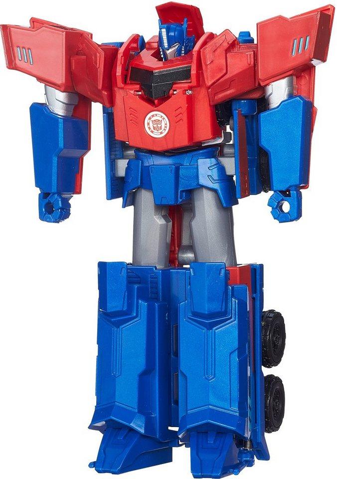 Hasbro Spielfigur, »Robots in Disguise, 3 Step Changer, Optimus Prime«