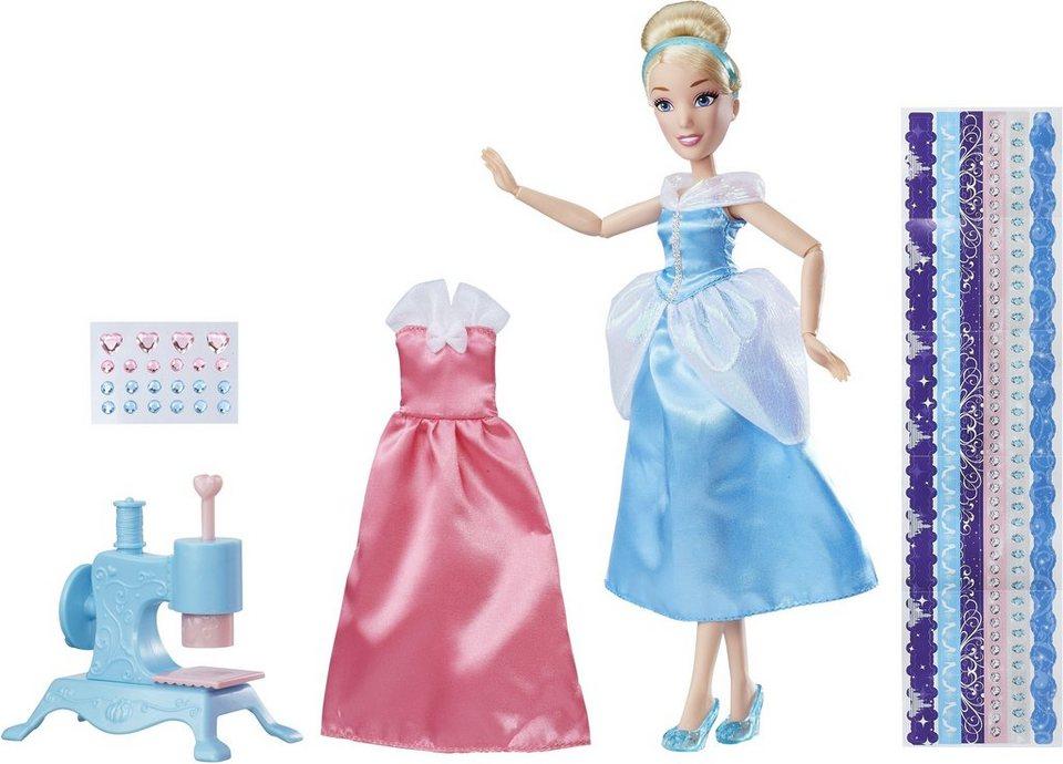 Hasbro Puppe mit Zubehör, »Disney Prinzessin, Cinderellas Kleider-Designer«
