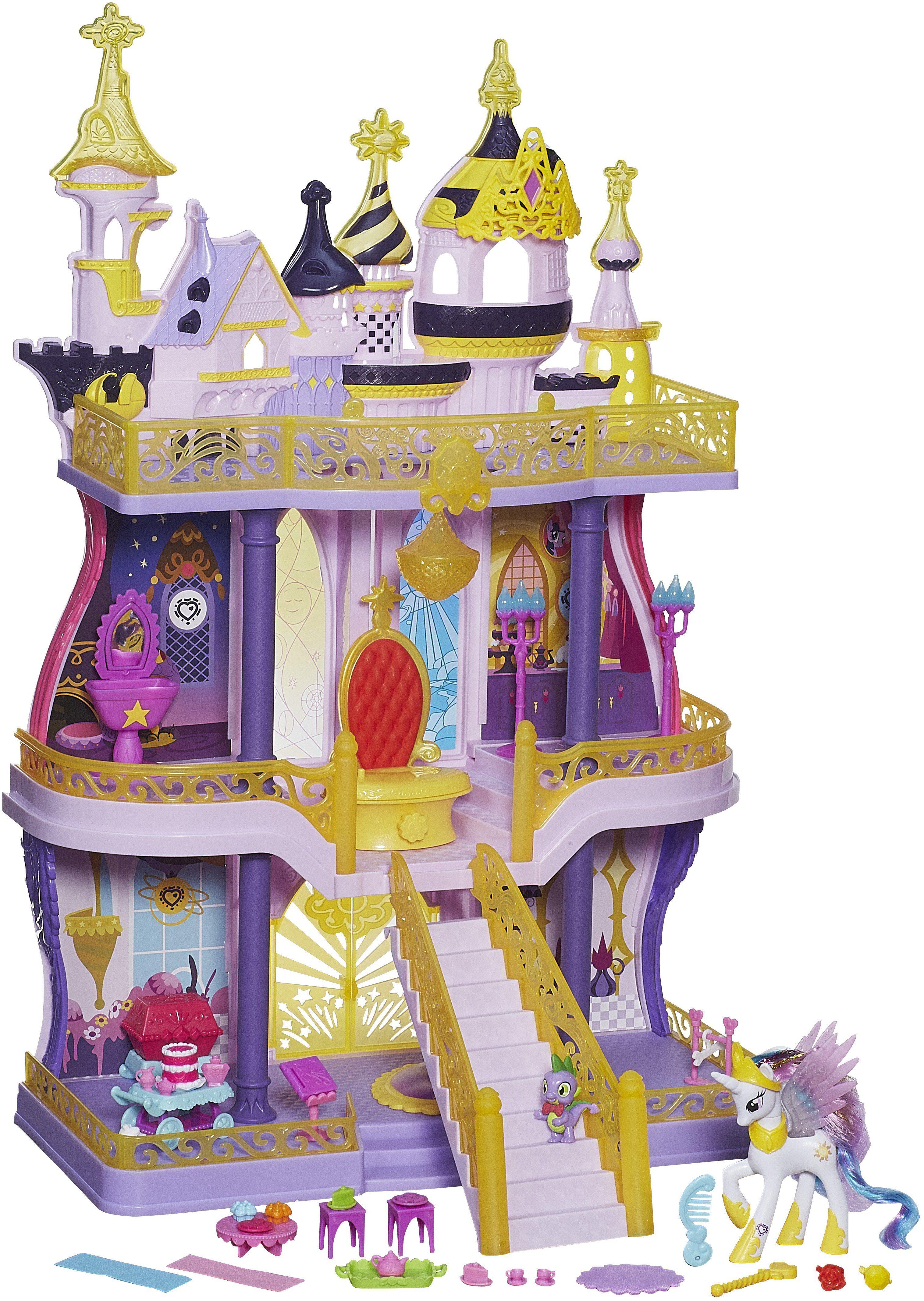 Hasbro Set, »My Little Pony, Magisches Canterlot Schloss + Gratis Leuchtprinzessinnen«