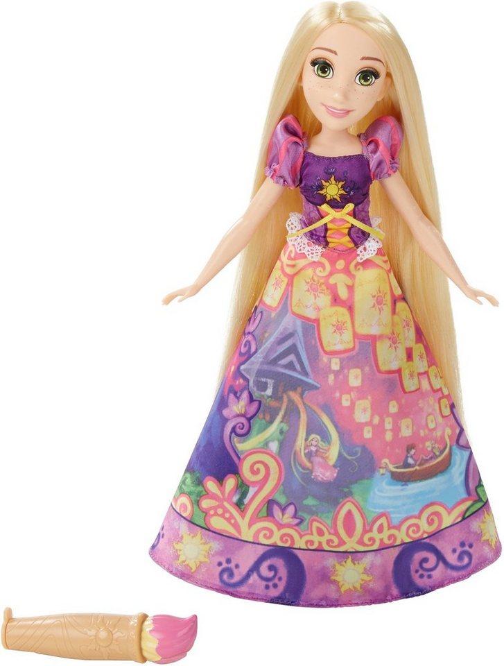 Hasbro Puppe, »Disney Prinzessin, Rapunzel in magischem Märchenkleid«