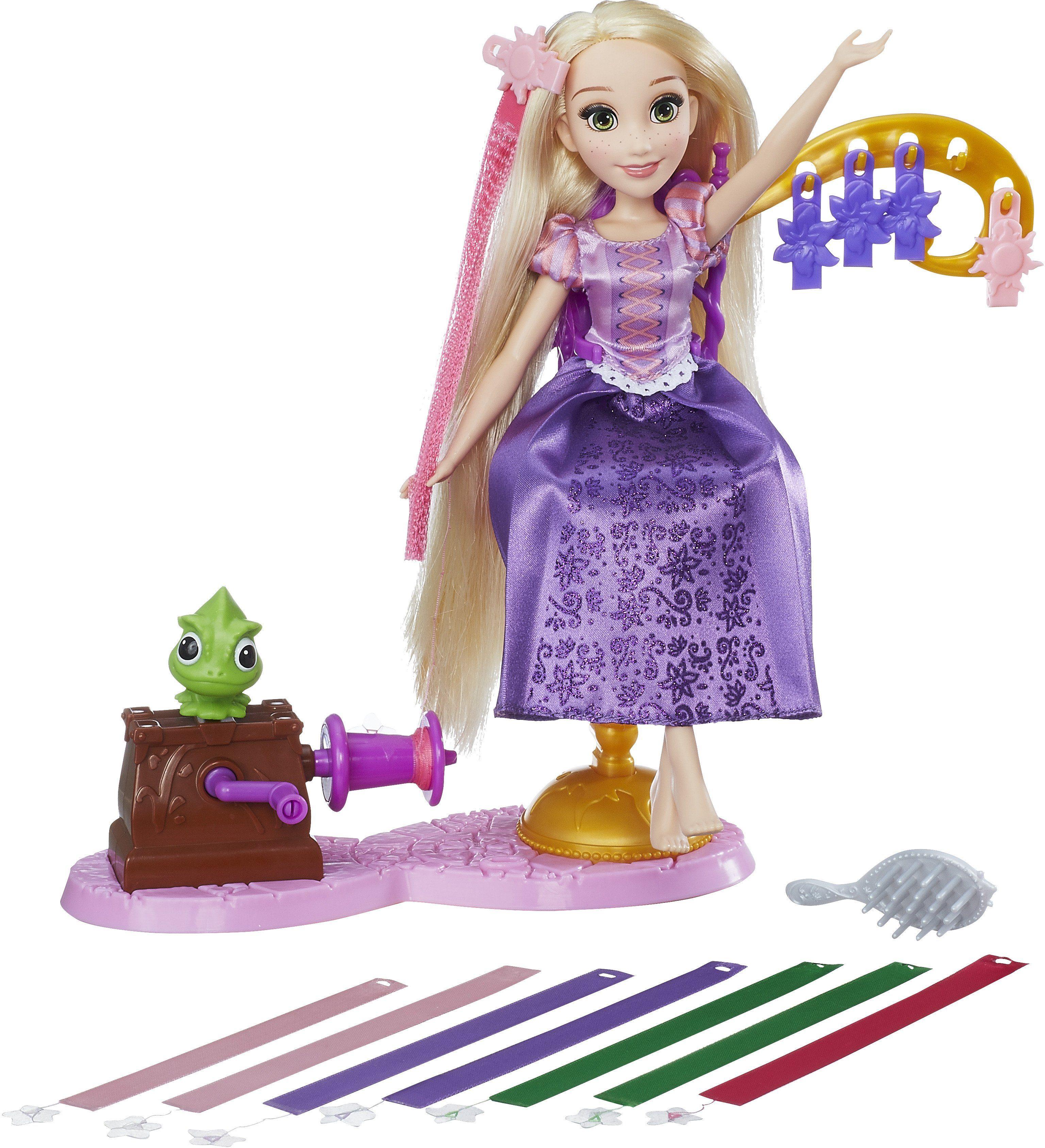 Hasbro Puppe, »Disney Prinzessin, Rapunzel fantastischer Frisier-Spaß«