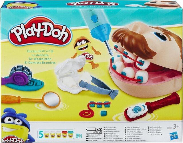 Image of Hasbro B5520EU4 Play-Doh Dr. Wackelzahn