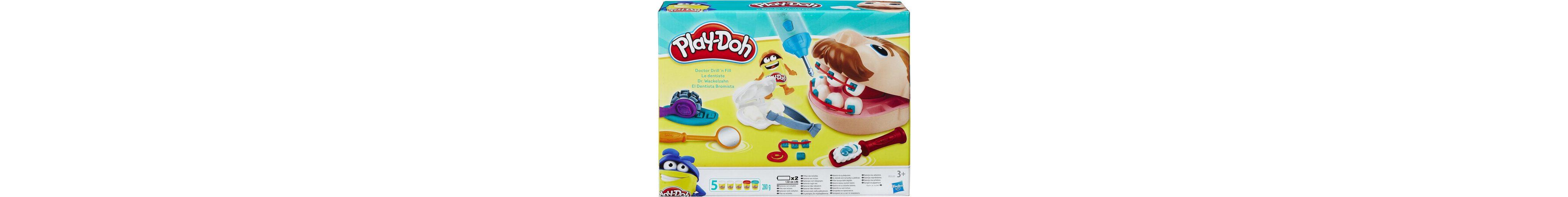 Hasbro Knetset, »Play-Doh, Dr. Wackelzahn«