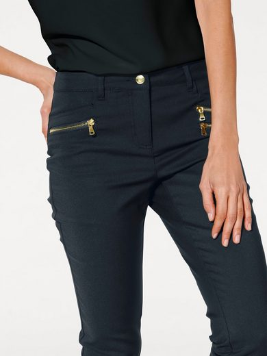 Ashley Brooke By Heine Bodyform-stretch Jeans With Belly-off-function