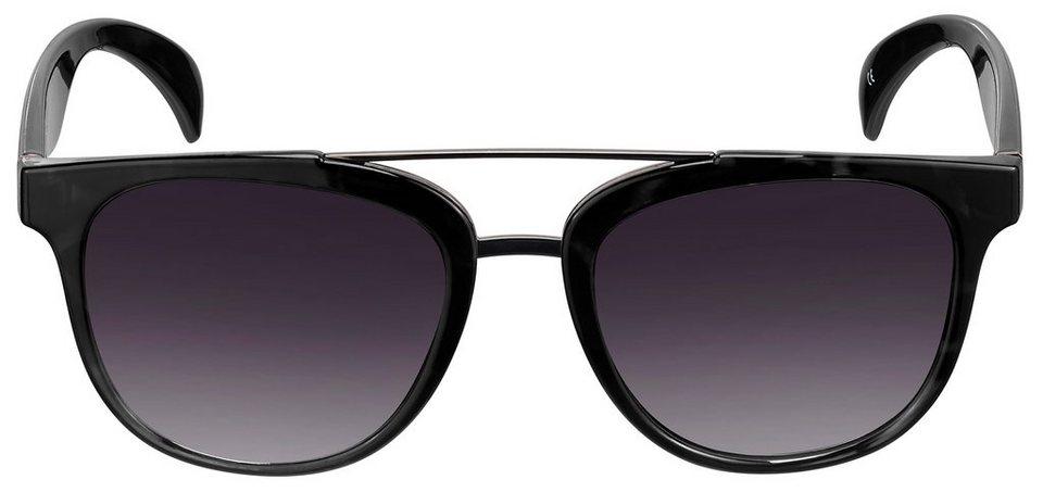 Sonnenbrille in schwarz