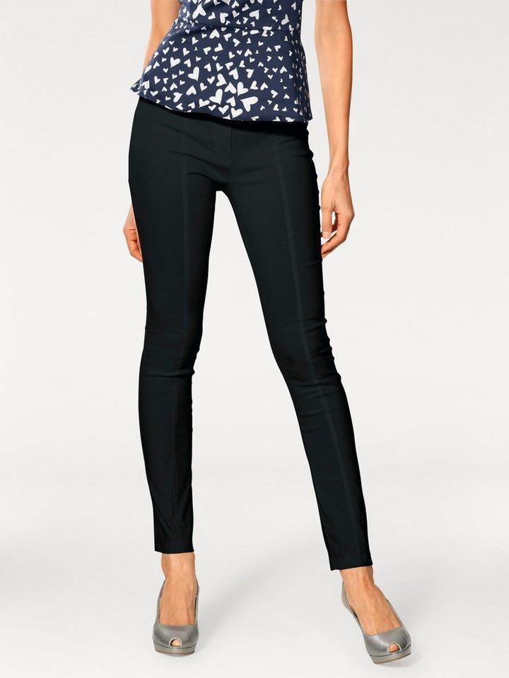 Bodyform-Stretchhose in schwarz