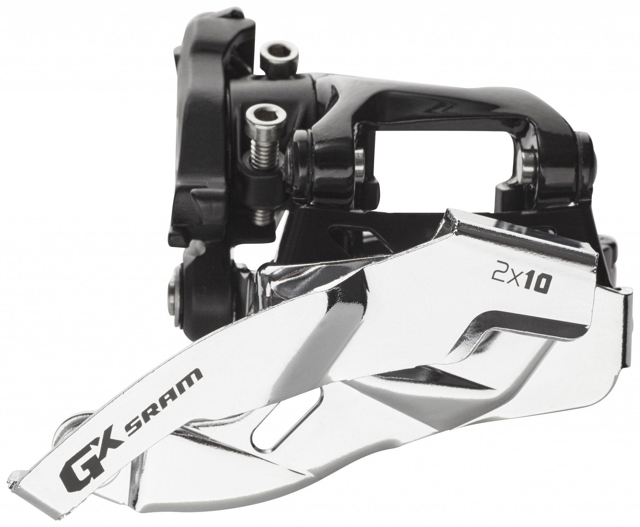 SRAM Schaltung »GX Umwerfer 2x10-fach Low Clamp Dual Pull«