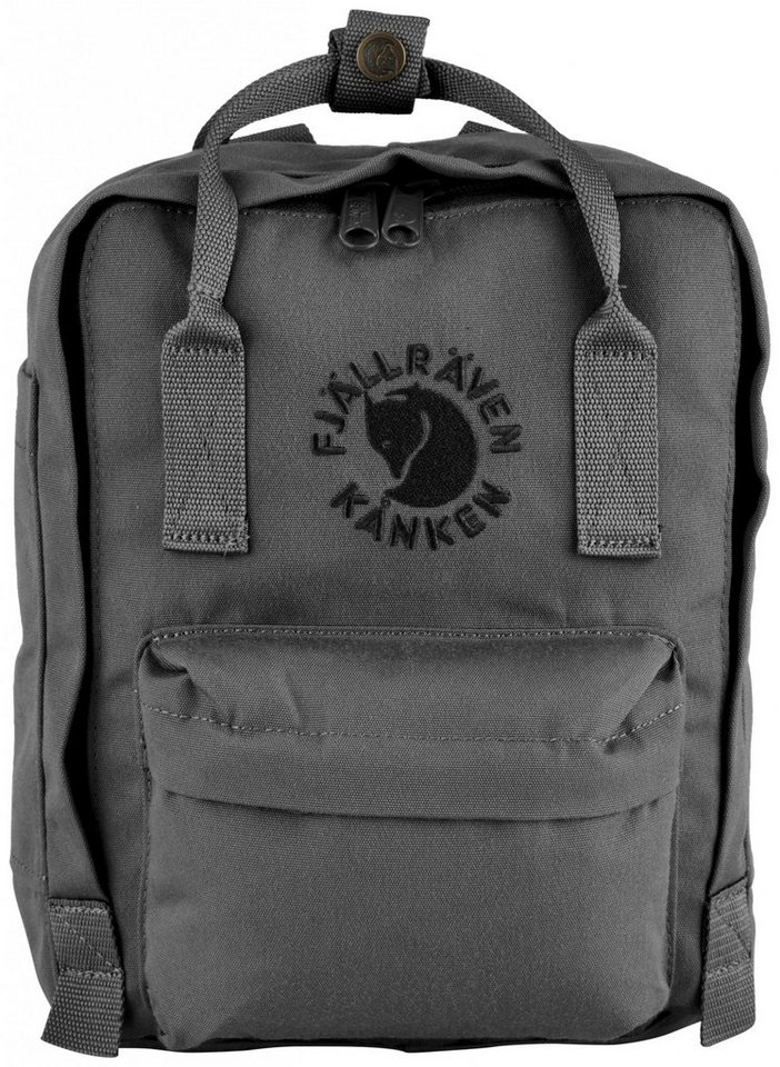 Fjällräven Sport- und Freizeittasche »Re-Kanken Mini Daypack« in grau