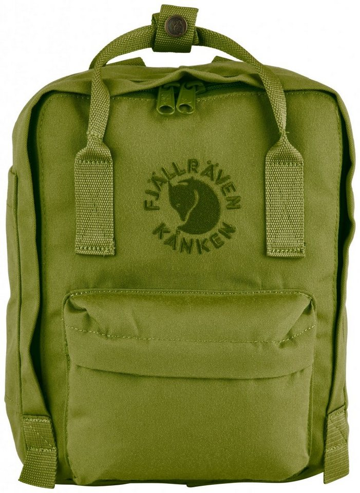 Fjällräven Sport- und Freizeittasche »Re-Kanken Mini Daypack« in grün