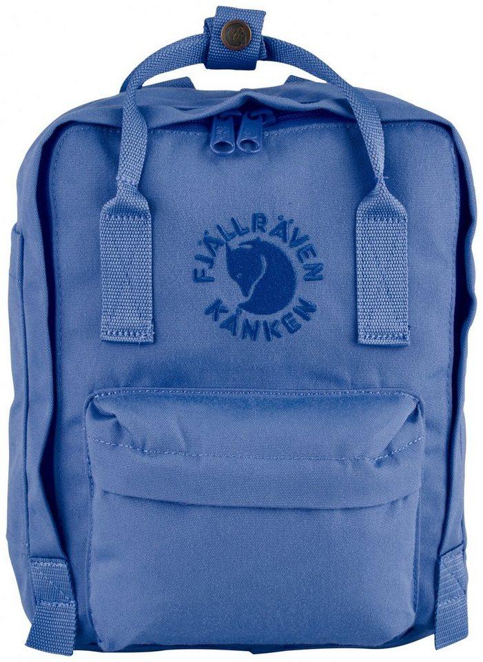 Fjällräven Sport- und Freizeittasche »Re-Kanken Mini Daypack« in blau