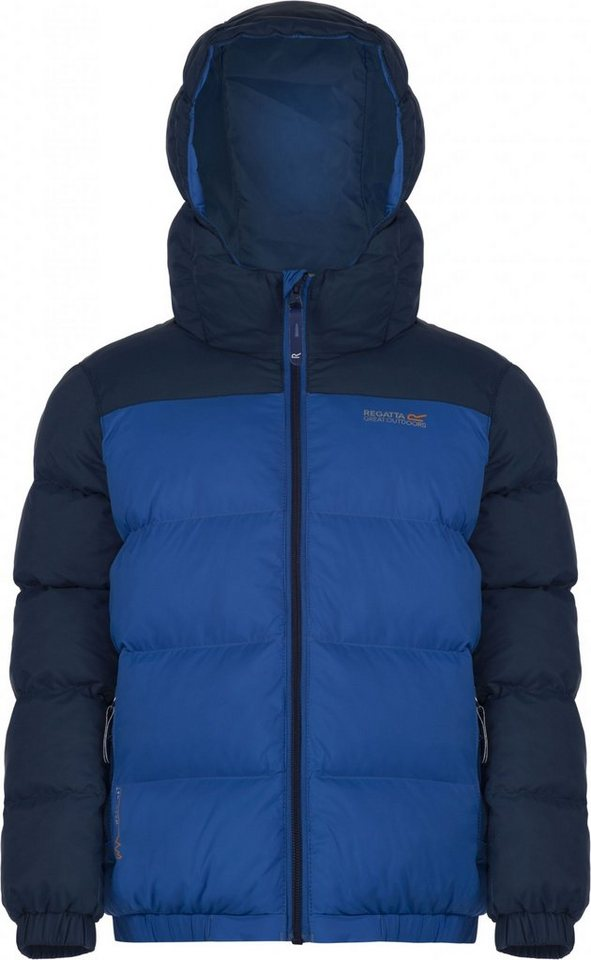 Regatta Outdoorjacke »Giant II Jacket Boys« in blau