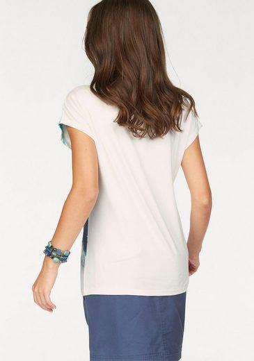 Boysen's Print-Shirt, aus weich fließender Viskosemischung
