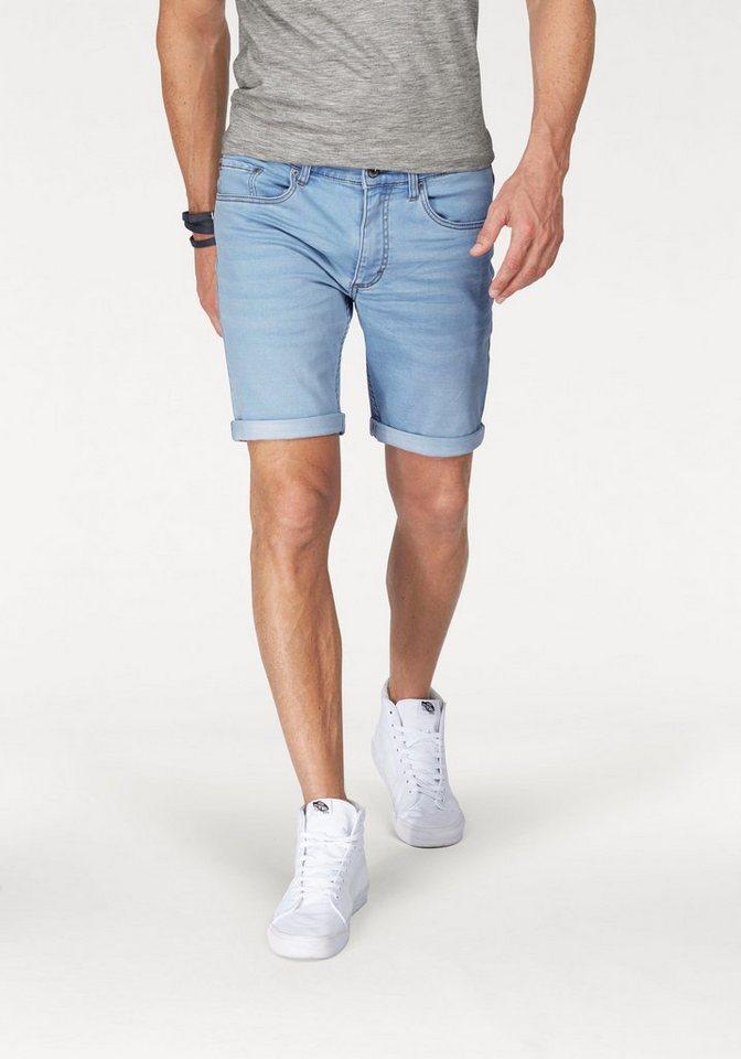John Devin Jeansbermudas in light-blue-used