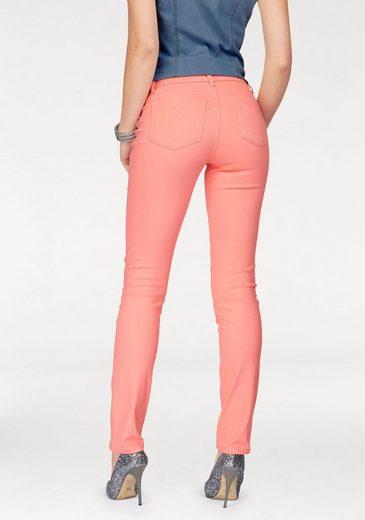 Arizona Skinny-fit-Jeans Coloured-Denim, Low Waist