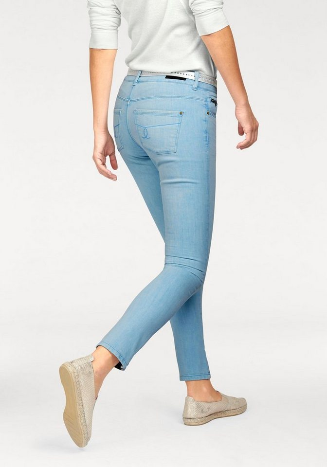 Colorado Denim Comfort-fit-Jeans modische Ankle Pants in light-blue