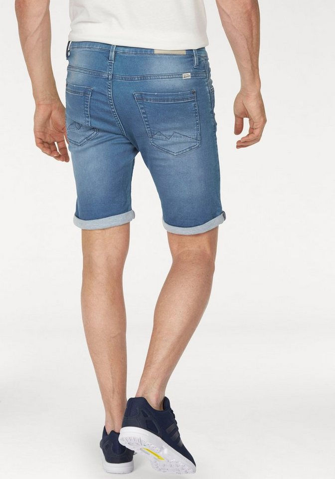 Blend Shorts »Denim Jogg Shorts« in light-blue-used