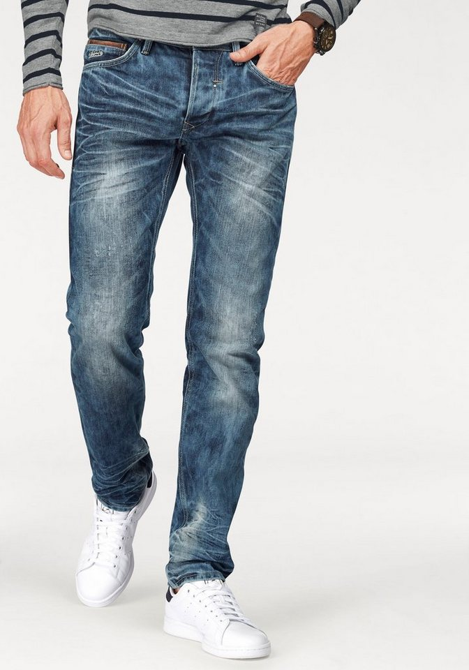 Blend Slim-fit-Jeans »Twister« in light-blue-used