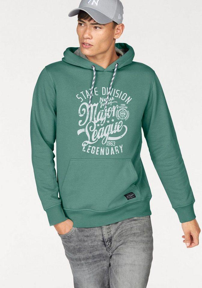 John Devin Kapuzensweatshirt in grün