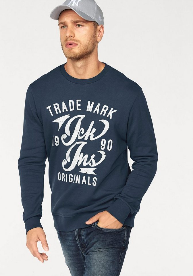 jack jones sweatshirt online kaufen otto. Black Bedroom Furniture Sets. Home Design Ideas