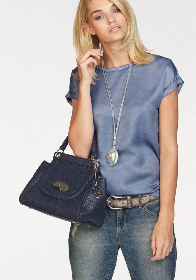Laura Scott Blusenshirt in trendiger used Optik in graublau